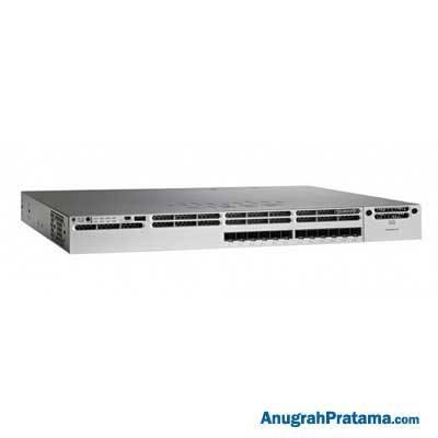 CISCO Catalyst 3850 12 Port 10G Fiber Switch IP Services - WS-C3850-12XS-E