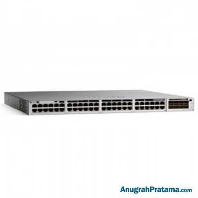 Jual CISCO CATALYST 9300 48-PORT POE+, NETWORK ADVANTAGE, REDUNDANT POWER  SUPPLY [C9300-48P-A] Switches - Anugrahpratama com